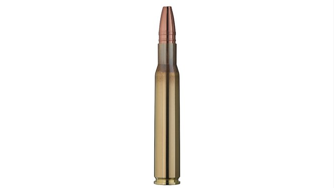 Single bullet view of GECO .30-06 STAR 10,7g
