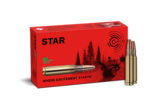 Frontview of ammunition and packaging of GECO .308 Win. STAR 10,7g