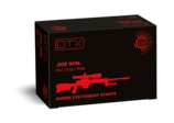 Frontview of packaging of GECO .308 Win. DTX 9,7g