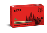 Frontview of packaging of GECO .300 Win. Mag. STAR 10,7g