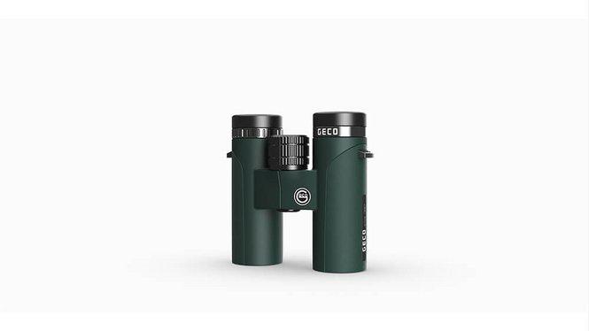 Image of the GECO Binocular 8x32 Green in lying position