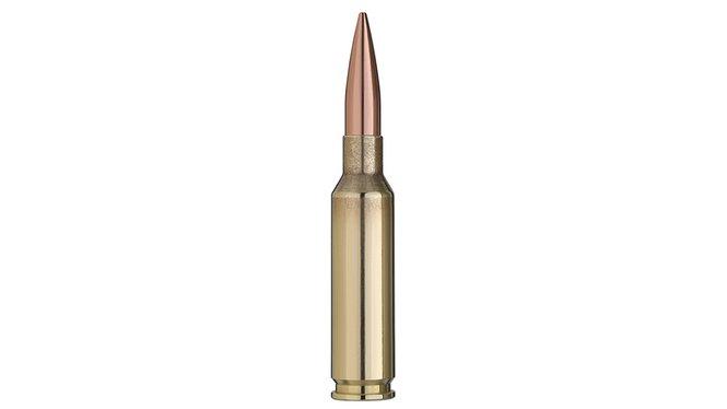 Single bullet view of GECO 6,5 Creedmoor TARGET HP 8,4g