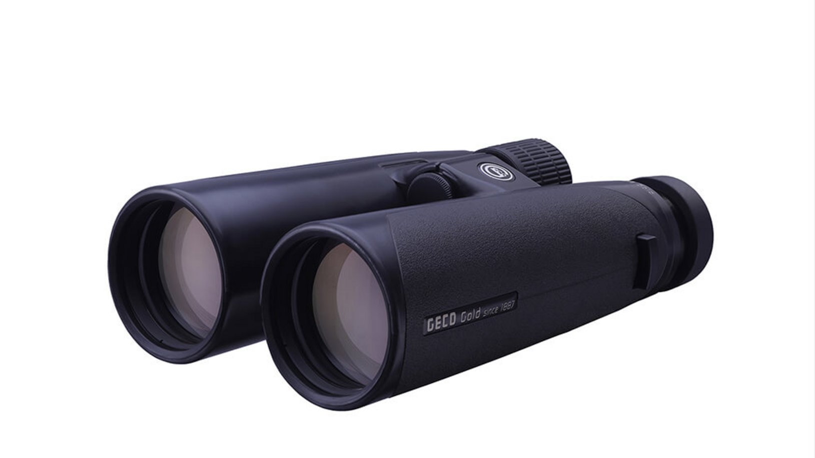 Image of the GECO Binocular Gold 10x50 Black in lying position