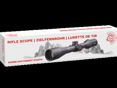 GECO Riflescope packaging visual